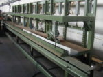 SCHEER kombinierte Furniersäge / Presse