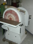 Doppelseitige Tellerschleifmaschine